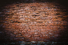 Old red brick wall texture Royalty Free Stock Photo