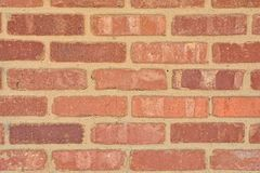 Old red brick wall texture. Stock Photos