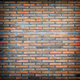 Old red brick wall texture Royalty Free Stock Images