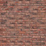 Old Red Brick Wall Texture. Royalty Free Stock Images