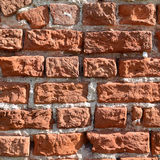 Old red brick wall texture Stock Photography