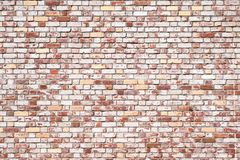 The old red brick wall texture wallpaper background stock image
