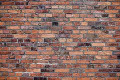 Free Old Red Brick Wall With Lots Of Texture And Color. Stock Photo - 159268080