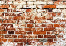 Old red bricks background. Stock Photo