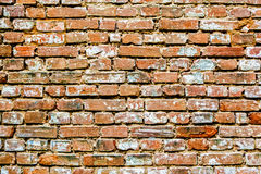 Old red bricks background. Stock Images