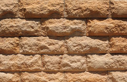 Old Red Bricks with Cracks Stock Images