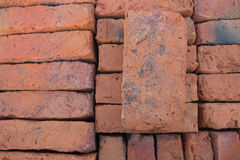 Old red bricks Stock Photos