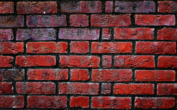 Old red bricks wall Royalty Free Stock Photos