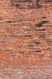 Old red bricks wall Stock Photos