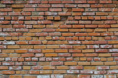 Old red brickwork. Royalty Free Stock Photography