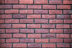 Old Red Brickwork stock image