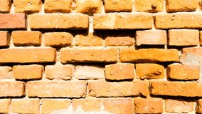 Old red brickwork. Grunge style stock photography