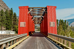 Old Red Bridge Stock Photos