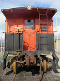 An Old Red Caboose Royalty Free Stock Photos