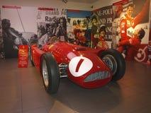 Old red car - Formula 1 Stock Images