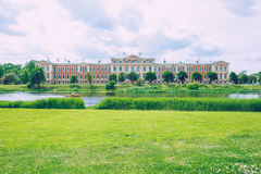 Old red castle in Jelgava, Latvia. Stock Photography