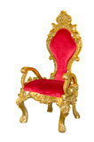 Old red chair Royalty Free Stock Image
