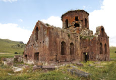 Old Red Church Kizil Kilsie Turkey Royalty Free Stock Images