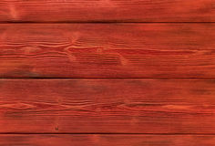 The old red colored wooden texture background Royalty Free Stock Image