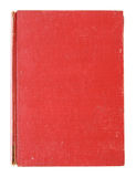 Old red cover book isolated stock image