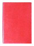 Old red cover book isolated Royalty Free Stock Image
