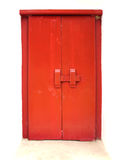 Old red door. Background Royalty Free Stock Photos