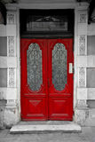 Old red door Royalty Free Stock Photo