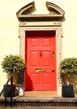 Old red door Stock Images