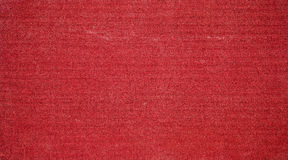 Old red fabric background. Old canvas background with space for text or image Royalty Free Stock Image