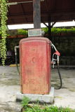 Old Red Fuel Pump Royalty Free Stock Image