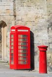 Post and telephone boxes Royalty Free Stock Photo