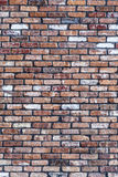 Old red grunge brick wall Stock Photos