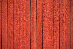 Old red wood panels Royalty Free Stock Photos