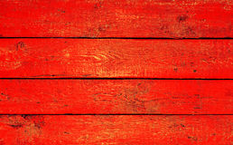 Old, red grunge wood Stock Photo