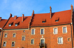 Old red house Royalty Free Stock Image