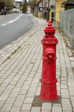 Old red hydrant Royalty Free Stock Photography
