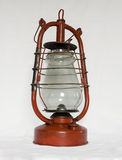 Old red kerosene lamp  Royalty Free Stock Photo
