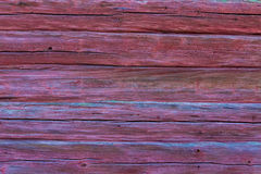 Old red log background Royalty Free Stock Photography