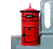 Old red mailbox Royalty Free Stock Photography