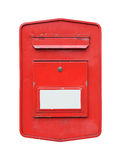 Mailbox isolated Stock Photography