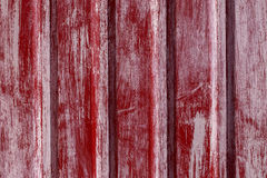 Old red paint on a metal Stock Photo