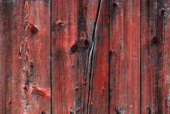 Old red painted wood background Stock Image