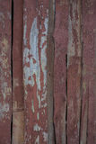 Old red painted wooden boards Royalty Free Stock Photography