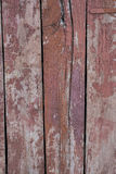 Old red painted wooden boards Stock Image