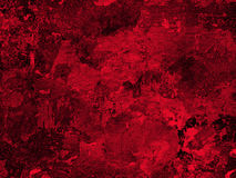Old red plaster wall texture Stock Photography