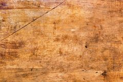 Old Red Plywood Wooden Panel. Natural Background royalty free stock images