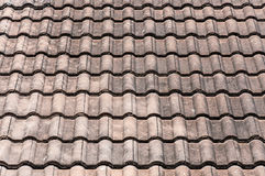 Old Red Roof Background Royalty Free Stock Images