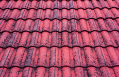 Old red roof Royalty Free Stock Photo