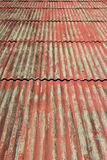 Old red roof tiles Royalty Free Stock Photo