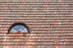 Old red roof and window Royalty Free Stock Photos